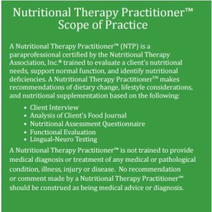 NTP Scope of Practice